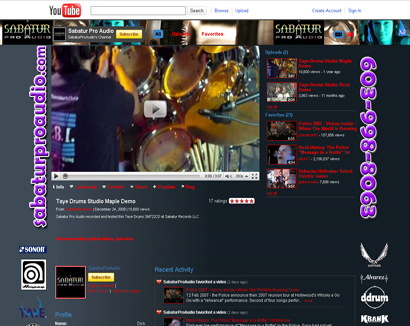 youtube layouts, youtube